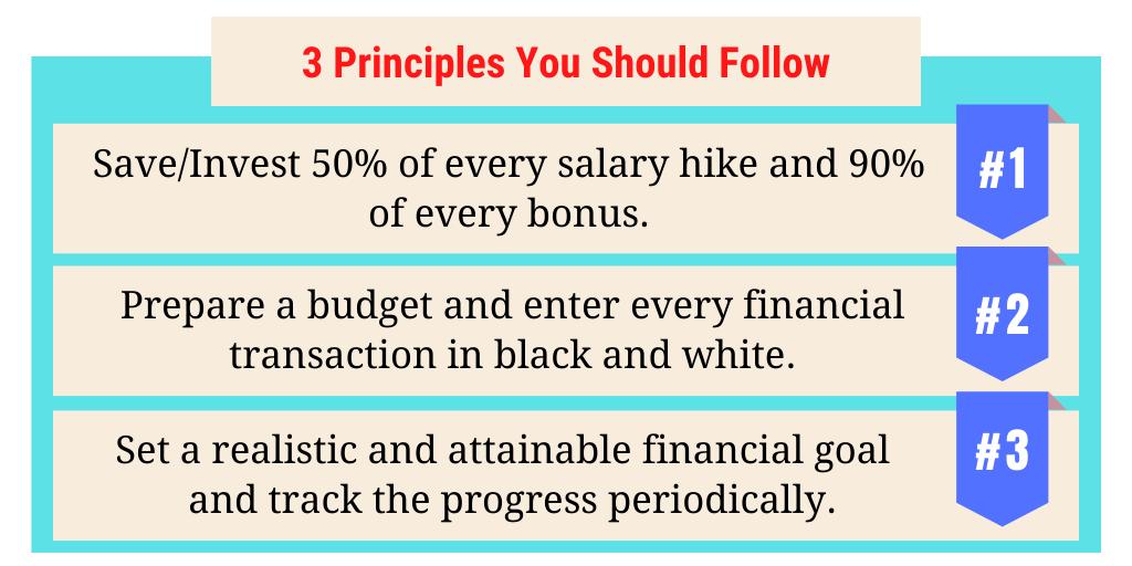 Personal Finance Principles You Should Follow